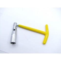 Bougie - clef - Hexa - 16mm -