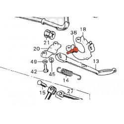 Bequille laterale - Vis de fixation