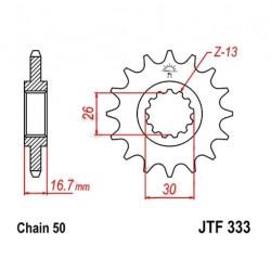 Transmission - Pignon sortie boite - JTF 333 - 530/15 dents
