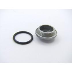 Bouchon - reglage / graissage ... (poli mirroir)  - M30 + joint