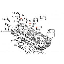 Moteur - Joint torique de vis - 6.8x1.5