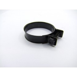 Collier NOIR  - 38-44mm - Larg 11.80mm (x1pce)