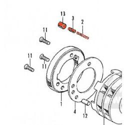 Demarreur - Roue Libre - Kit de Réparation -  CB250K-CB500T