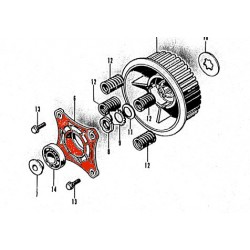 Embrayage - Entretoise de serrage ressort