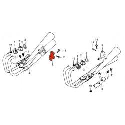 Echappement - Support de fixation - CB750 C - Droit - Non livrable