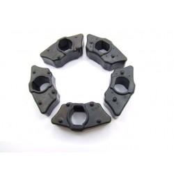 Roue arriere - Amortisseur - Silent bloc de roue - GL1500 - 1990-2000