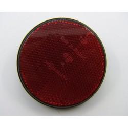 Reflecteur (x1) - Catadioptre Rouge/Noir - ø 85mm x M5 a visser