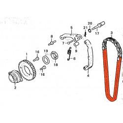 Distribution - Chaine 0417H-078 L - Ouverte
