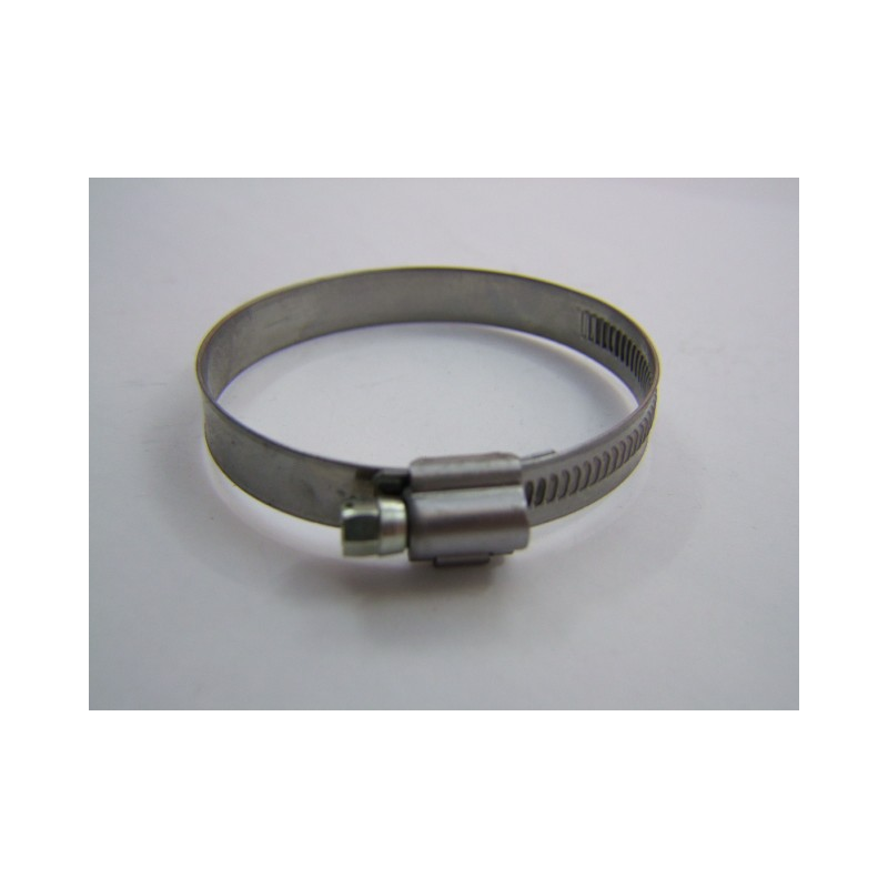 collier - zingué  - 50-70mm - Larg. 12mm