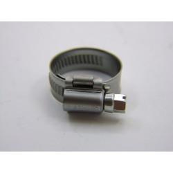 collier - zingué  - 16-27 mm - Larg. 12mm