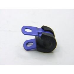 Frein - Collier de fixation durite ø 7mm - Bleu