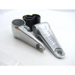 Phare - Support - Fourche ø32-41 mm (x2)- Alu poli -