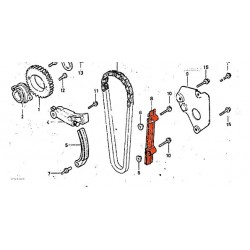 Distribution - Guide, patin de chaîne - CX400E - CX500E - ....
