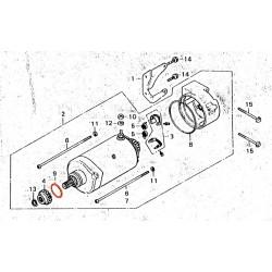 Demarreur - joint torique 24.40x3.10 mm