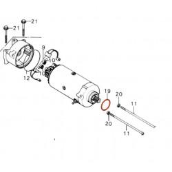 Demarreur - joint torique - 42.50x2.00 mm - 91309-MA6-000