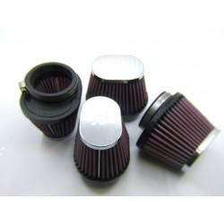 Filtre a air - ø 54mm - KN - Cornet (x4)