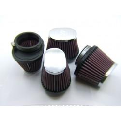 Filtre a air - ø 54mm - K&N - Cornet (x4)
