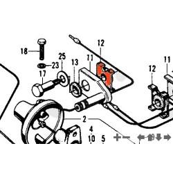 Clignotant - Caoutchoux d'alignement support -  N'est plus disponible