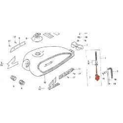 Reservoir - Robinet essence - CM400T