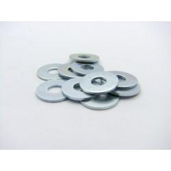 Rondelle plate - Acier zingué - ø 8.4x22x1.5 mm - (x10)