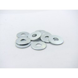 Rondelle plate - Acier zingué - ø 5.40x16x1.0mm - (x10)