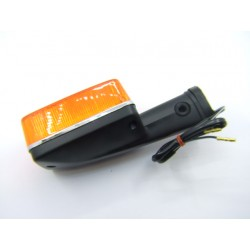 Clignotant - Lisseret chrome - CX500-CB650-750-900-1100-