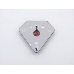 Cache Lateral - Embleme - Logo - triangle Aile Droite - Honda CB Four