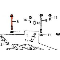 Moteur - Axe de serrage de culasse - M8 x120