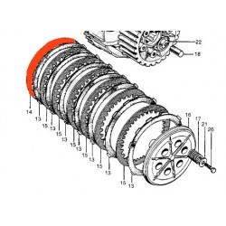 Embrayage - Disque Lisse - A -  (x1) - Honda -