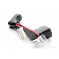 Batterie - fil rouge de connexion