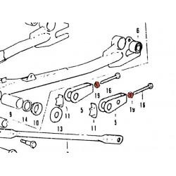 Bras oscillant - Joint de bague - Feutre - (x1)