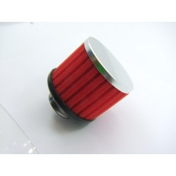 Filtre a air - ø 39mm - Mousse Rouge - (x1) -