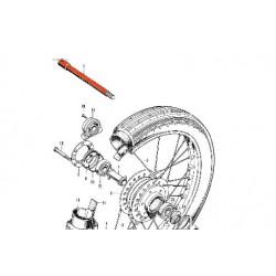 Roue avant - Axe de roue - CB750