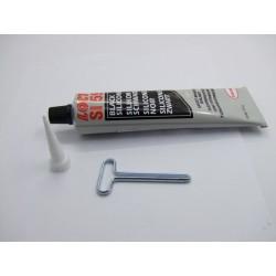 Pate à joint - Silicone Noir - haute temperature - Loctite