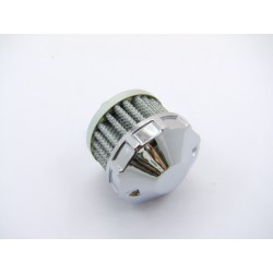 Filtre - Reniflard - EMGO - CHROME - Male  ø 9.60mm