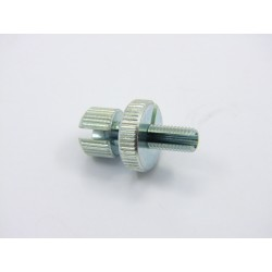 Arret gaine - tendeur de cable - Aluminium - M7x1.00