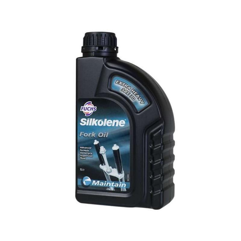 Fourche - huile - Silkolene - SAE 30W - 1 Litre