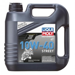 Moteur - Huile - LIQUI MOLY - Street - 10W40 - Synthese - 4Litres