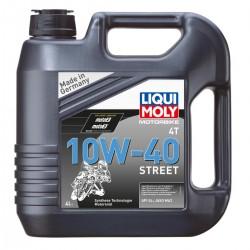 Moteur - Huile - LIQUI MOLY -  Synthetic 10W40 - 4 Litres