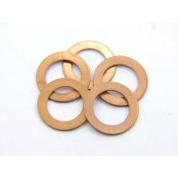 Rondelle cuivre 10x18x1.5 - (x5)
