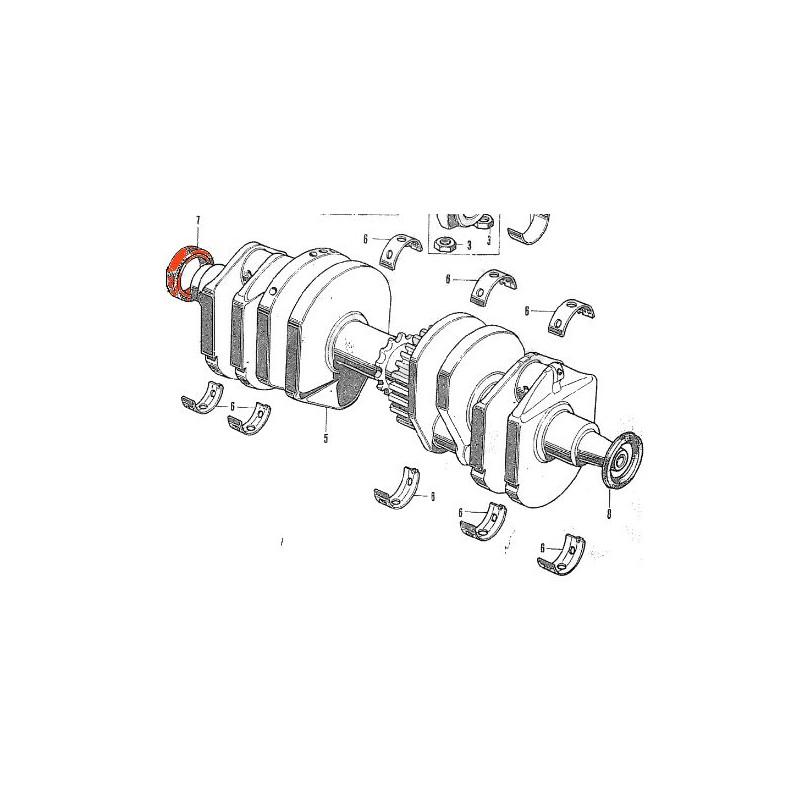 Moteur - Joint spy vilebrequin  (x1) - 30x42x8 - CB250/400/550/650/750
