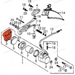 Frein - Etrier - Support plaquette - adaptable - ø38.10 - CB250-350-360-...-500-550...
