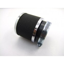 Filtre a air - ø 54mm - Cornet Mousse + chrome - (x1) -