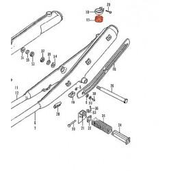 Echappement - Caoutchouc de fixation Vertical - CB350K / CB750K