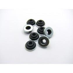 Moteur - Couvercle culasse - Cache culbuteur - Rondelle de caoutchouc de montage (x8)