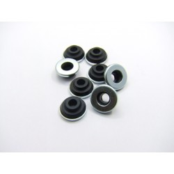 Moteur - Couvercle culasse - Rondelle de caoutchouc de montage (x8)