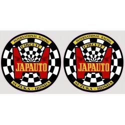 Japauto - 1980 - Decoration, autocollant