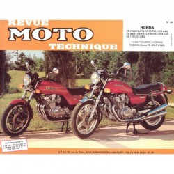 Revue Technique Moto - RTM - N° 38 - Version PAPIER - Cb750/CB900/CB1100