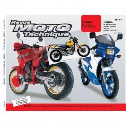 Revue Technique Moto - RTM - N°71.3 - Version PAPIER - NX650 - Dominator / RG125