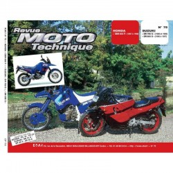 RTM - N° 075 - CBR600F - DR750-DR800 - Revue Technique moto - Version PAPIER